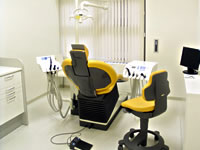 Treatment room - Tokyo dentists in English